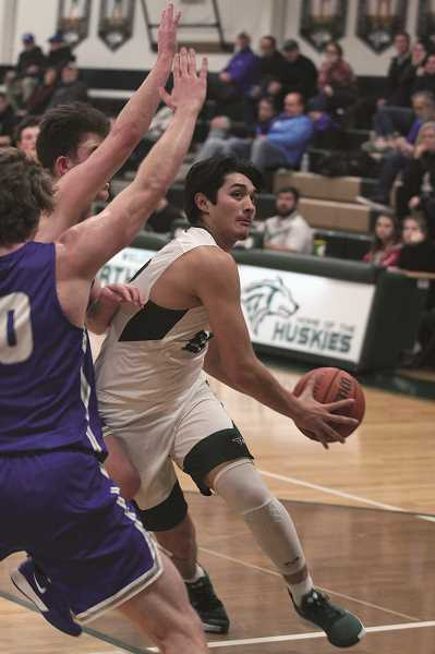 PMG FILE PHOTO: PHIL HAWKINS - Two time Conference Player of the Year Sergio Jimenez led a potent offensive attack that led the 4A Classification in scoring this season.