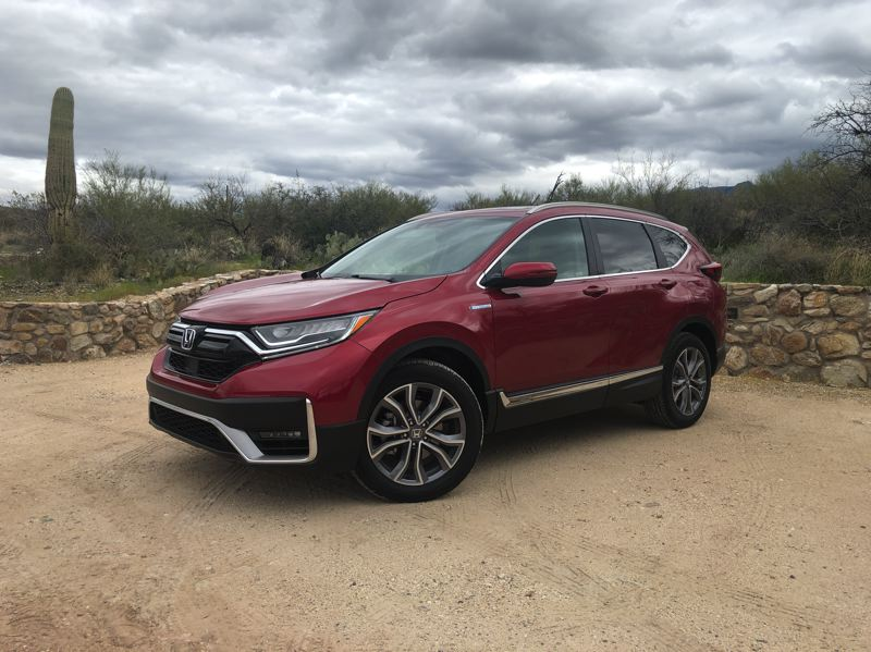 PMG PHOTO: JEFF ZURSCHMEIDE - On the road, the CR-V is quiet and smooth. There's plenty of power available, and the AWD system makes this model an attractive choice if your lifestyle includes remote camping or winter sports.