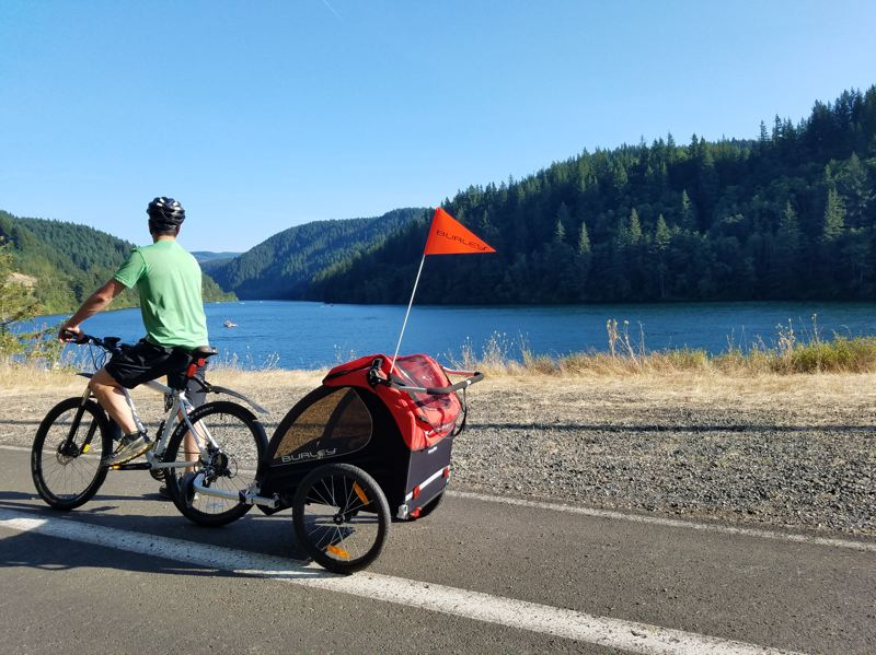 COURTESY PHOTO - The Cascading Rivers Bike Rides give cyclists an opportunity to ride near nature in the Estacada area.