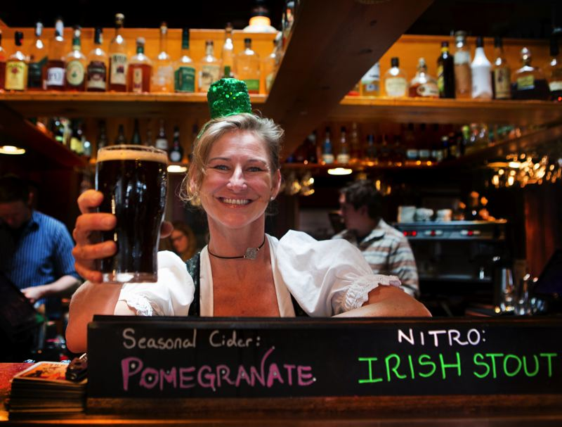 COURTESY PHOTO - In happier times, McMenamins hosted St. Patrick's Day events. Now, it's laying off employees and closing establishments, except for one, in Oregon.