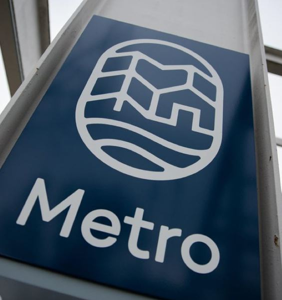 PMG FILE PHOTO - The Metro logo outside the headquarters of the elected regional government.