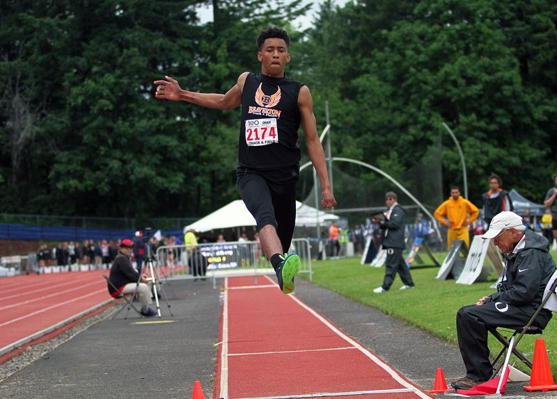 TIMES FILE PHOTO - Beaverton senior track star Nathan Reed and the rest of the Metro League athletic world are put on pause through March 31.