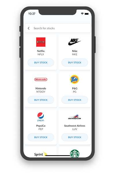 COURTESY PHOTO - Inside the BusyKid app, children can buy stock from companies like Netflix and Nike after they receive their weekly allowance.