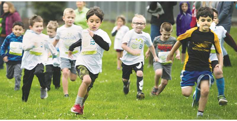 SUBMITTED PHOTO - The Healthy Kids Running Series is a five-week program for kids age 2 to 14 designed to encourage active and healthy lifestyles.