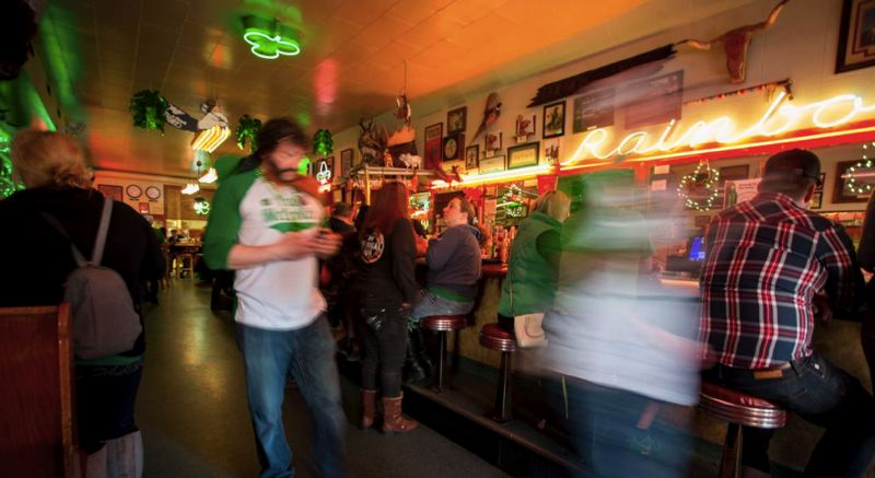 VIA EO - Rainbow Cafe in Pendleton was packed on St. Patrick's Day this year, despite an order from Governor Kate Brown mandating the closure of all establishments except for take-out food service.