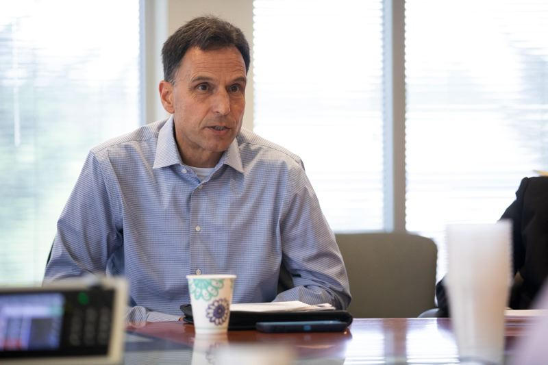 PMG FILE PHOTO - Multnomah County Sheriff Mike Reese is overseeing changes in how his agency operates. Deputies can issue citatons and court dates instead of arresting people for non-violent offenses, among other things