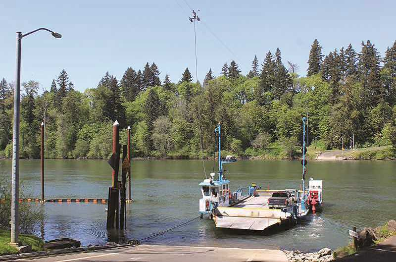 PMG FILE PHOTO: KRISTEN WOHLERS - The Canby Ferry is closed until April 6.
