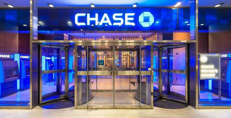 COURTESY: CHASE BANK - CHnse Bank is closing 20 percent or 1,000 of its branches due to coronavirus fears.