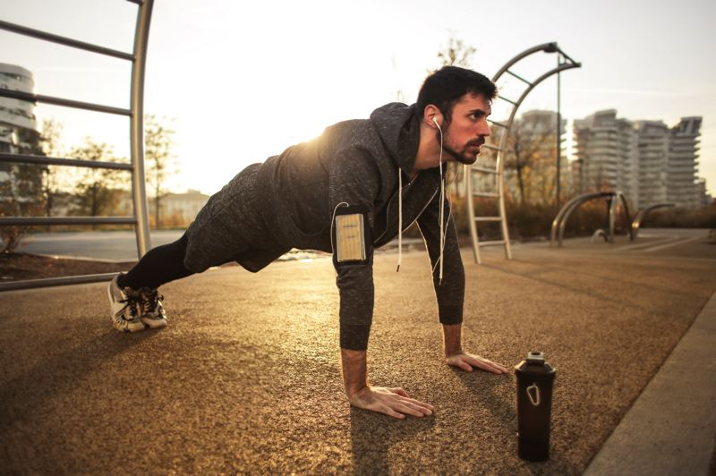 COURTESY; ANDREA PIACQUADIO/PEXELS - Your gym may be closed, but that doesn't mean you can't get out and exercise.