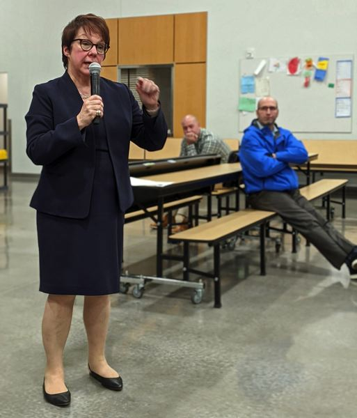 PMG FILE PHOTO - Sue Rieke-Smith is superintendent of Tigard-Tualatin School District in Washington County.