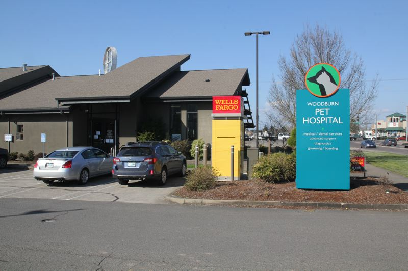 PMG PHOTO: JUSTIN MUCH - Woodburn Pet Hospital has adjusted how it receives animals for COVID-19 safety precautions, but it is determined to stay open and serve the areas pet population.