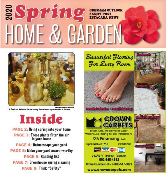 (Image is Clickable Link) Spring Home & Garden 2020