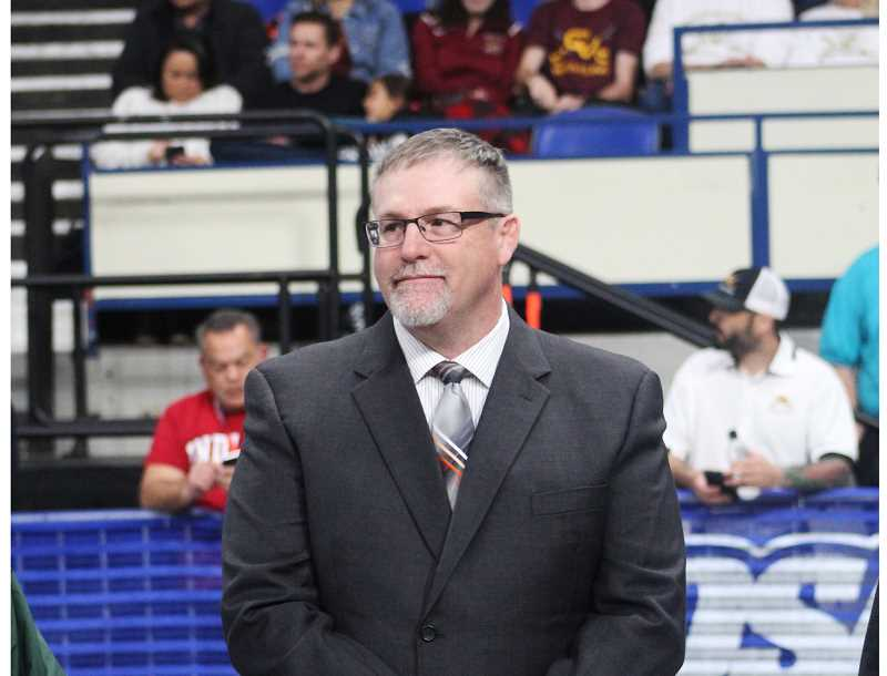 STEELE HAUGEN - J.D. Alley, the head wrestling coach for the Bulldogs, is being inducted into the Oregon Chapter of the National Wrestling Hall of Fame.
