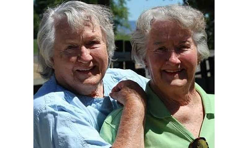 SUBMITTED PHOTO - Rosemary Lawrence and Carolyn Jean White