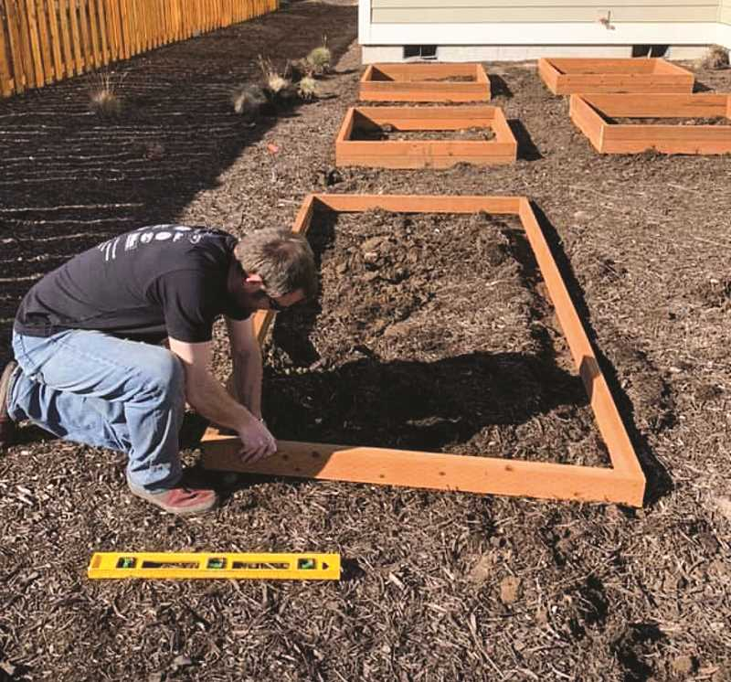 JASON CHANEY - The closures and social distancing mandates have encouraged some people to head outside and get an early start on their garden.