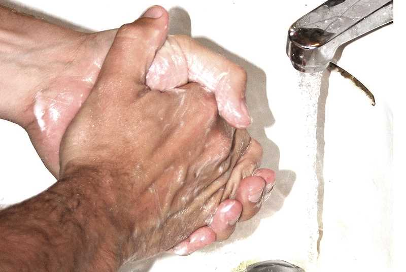 INTERNET PHOTO - Washing hands with soap and water is one of the best ways to help prevent coronavirus spread.