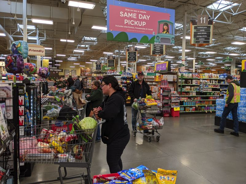 PMG PHOTO: BRITTANY ALLEN - Gov. Kate Brown's is order directs all to stay home unless they are getting groceries, going to work or engaged in important activities that cannot wait.