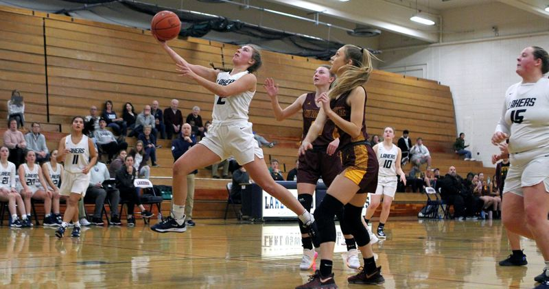 PMG PHOTO: MILES VANCE - Lake Oswego junior Emma Jeanson was the lone Laker to earn a berth on the 2019-20 Three Rivers League all-star team after leading Lake Oswego in scoring.