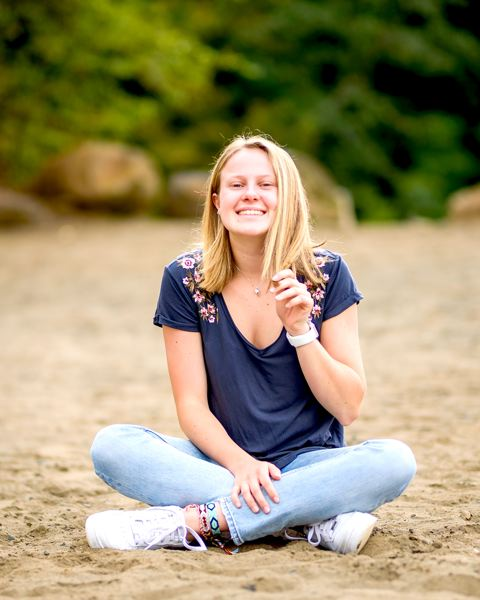 COURTESY PHOTO - Tigard High School senior Sarah Gentry has shined as the school's Associated Student Body president, as well as a student, organizer and skier.