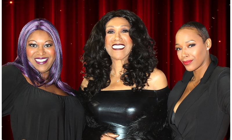 COURTESY PHOTO - Ruth Pointer is joined by daughter Issa (left) and granddaughter Sadako (right) in the latest iteration of the Pointer Sisters. They were scheduled to perform at Spirit Mountain Casino in late April, until our current health and economic crisis forced the show's postponement.