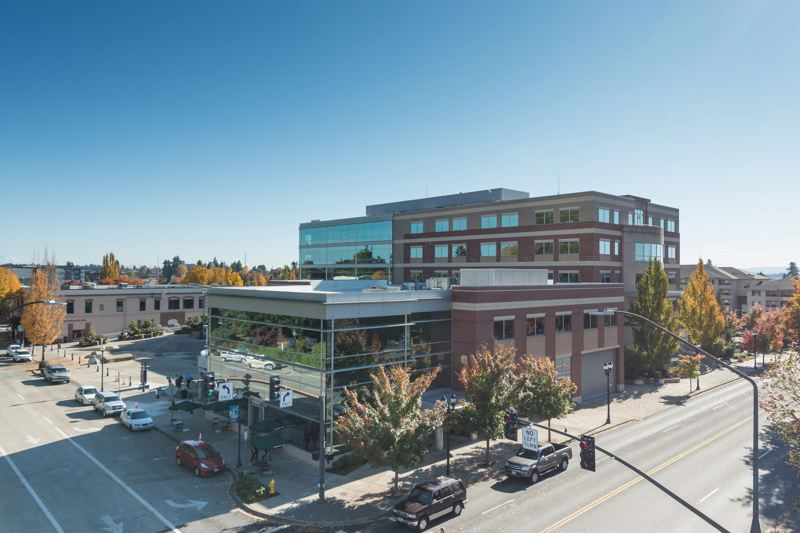 PMG PHOTO: CHRISTOPHER OERTELL - The Hillsboro Civic Center, as seen from the nearby Charles D. Cameron Public Services Building.