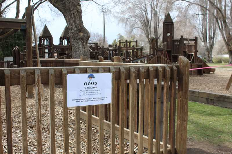 JASON CHANEY - Playgrounds are included in recent parks district closures.