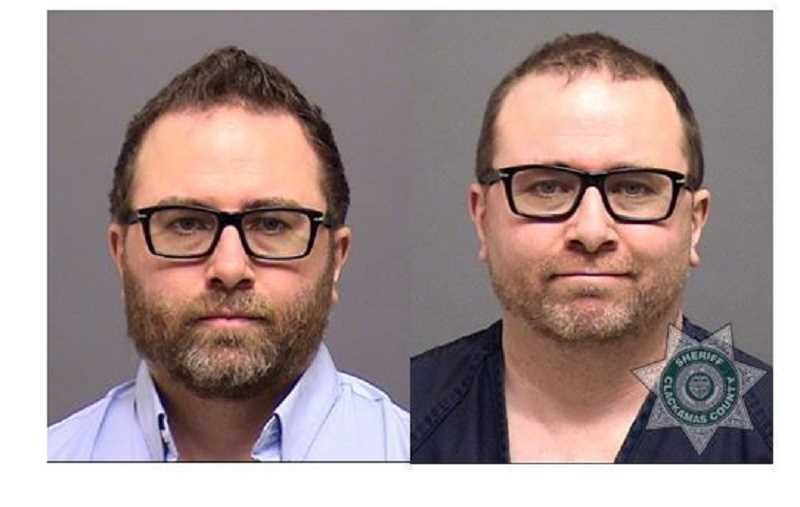 CCSO - Jonathan Patrick Wiebe in mugshots from Oct. 1 and March 2.