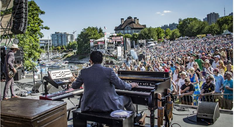 COURTESY PHOTO: MARILYN STRINGER - The Waterfront Blues Festival, which attracts thousands to Waterfront Front Park in July, has been cancelled for 2020.