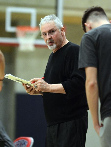 PMG PHOTO: DAVID BALL - Clackamas Community College coach Clif Wegner guided the Cougars to a NWAC South Region regular-season title.