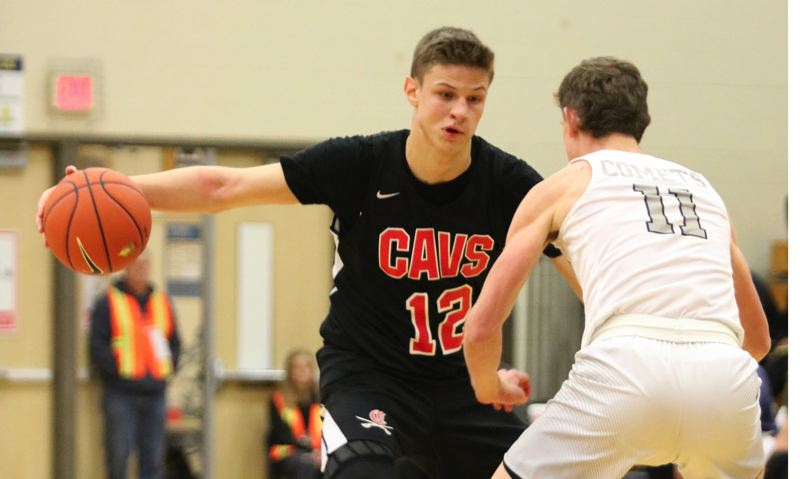 PMG PHOTO: JIM BESEDA - Clackamas junior forward Ben Gregg averaged 21.1 points, 9.3 rebounds, and 2.2 assists in leading the Cavaliers to a 21-5 record and a berth in the OSAA 6A quarterfinals.
