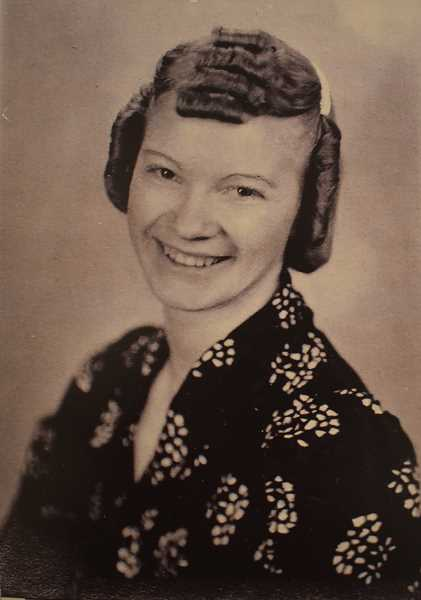 COURTESY PHOTO - Barbara Hannant, now almost 100 and living in Oregon City, is seen in this high school graduation photo in 1938.
