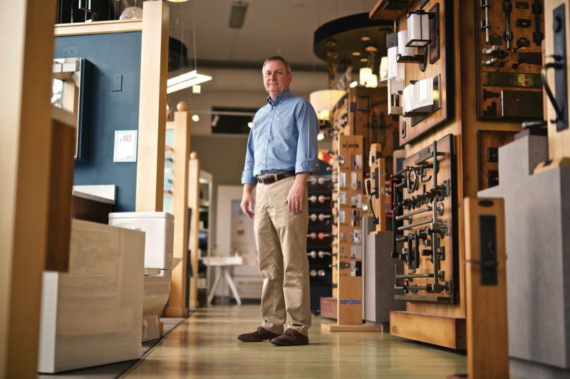 PMG FILE PHOTO - Chown Hardware co-owner David Chown wants the Oregon Legislature to delay the new Corporate Activities Tax.
