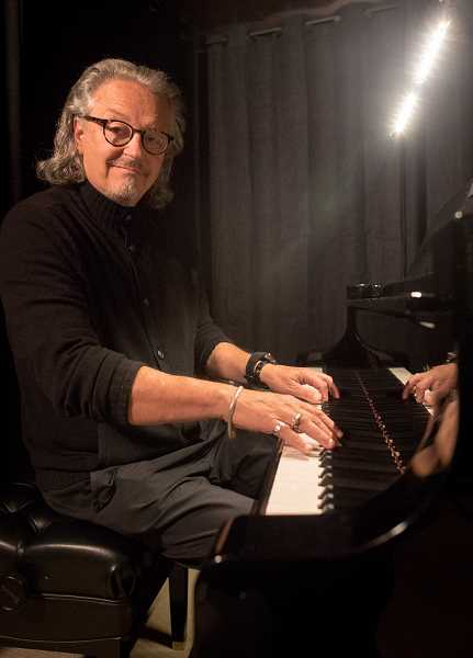PMG FILE PHOTO: - Portland composer and pianist Michael Allen Harrison is sharing music via his website free to the community. He presents a daily Anti-Coronavirus concert .