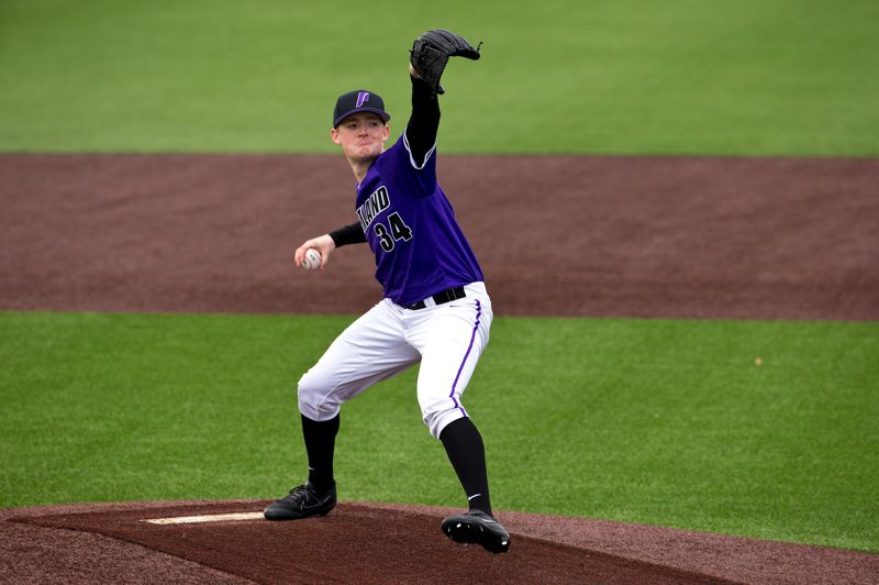 COURTESY FILE PHOTO: UNIVERSITY OF PORTLAND - Eli Morse and the Portland Pilots were scheduled to play against visiting Washington State today, before the coronavirus pandemic wiped out the rest of the college baseball season.