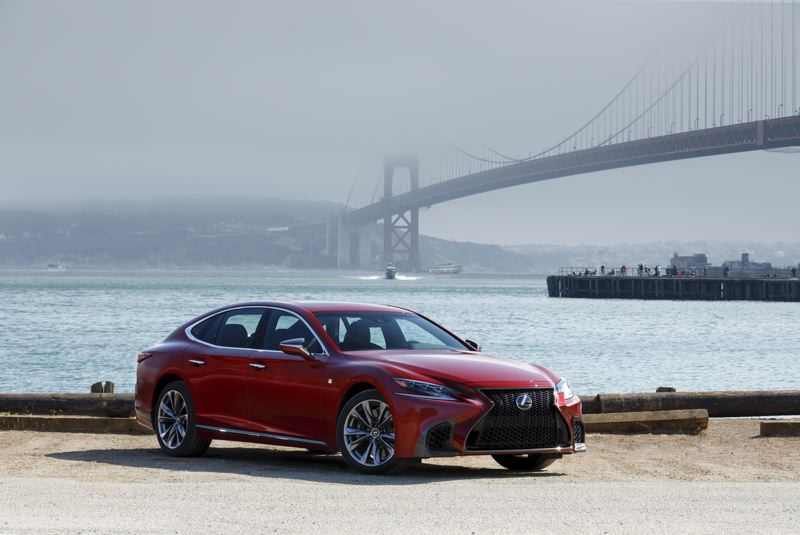 TOYOTA MOTOR CORPORATION - The 2020 Lexus LS 500 is one of the sharpest looking full size sport sedans on the planet. This one includes the F Sport handling package.