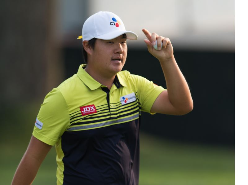 PMG FILE PHOTO: CHRISTOPHER OERTELL - Sungjae Im won the WinCo Foods Portland Open in 2018 -- and now is the leader in the PGA Tour's FedExCup standings.
