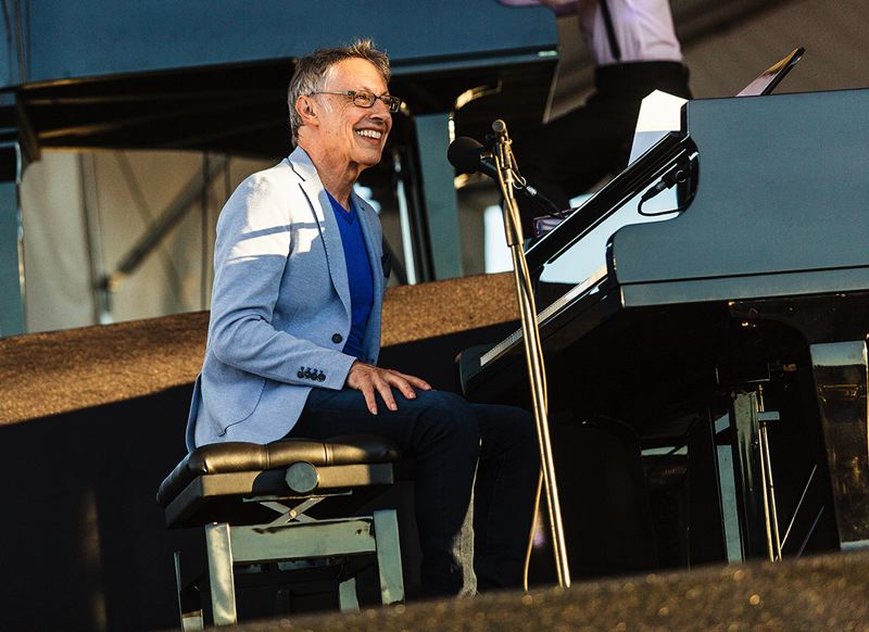 COURTESY PHOTO - Tom Grant, who has played the Ten Grands events for years (above), has been keeping busy with online music — and taking care of himself.