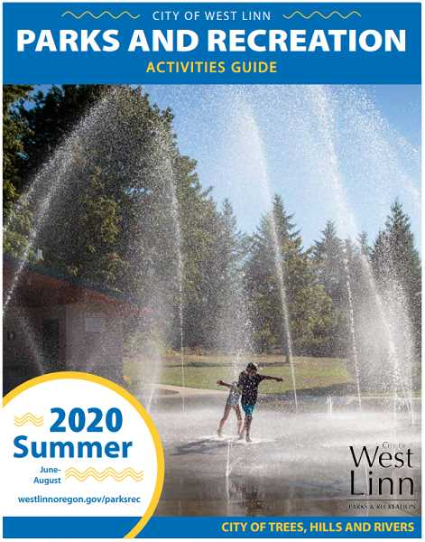 COURTESY PHOTO  - While West Linn parks are not open to the public now, West Linn Parks and Recreation is aiming to have everything running as planned for summer programs.