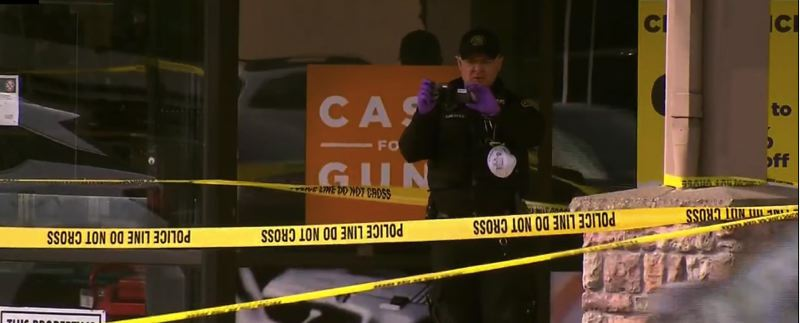 KOIN 6 NEWS IMAGE - Portland police are investigating the fatal shooting of a pawn shop manager on Southeast 82nd Avenue on Monday, March 30.