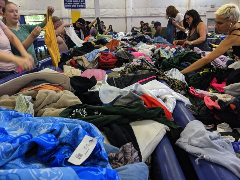 PMG FILE PHOTO - Portland-area Goodwill stores will close and the company will layoff employees because of the coronavirus social-distancing requirements.