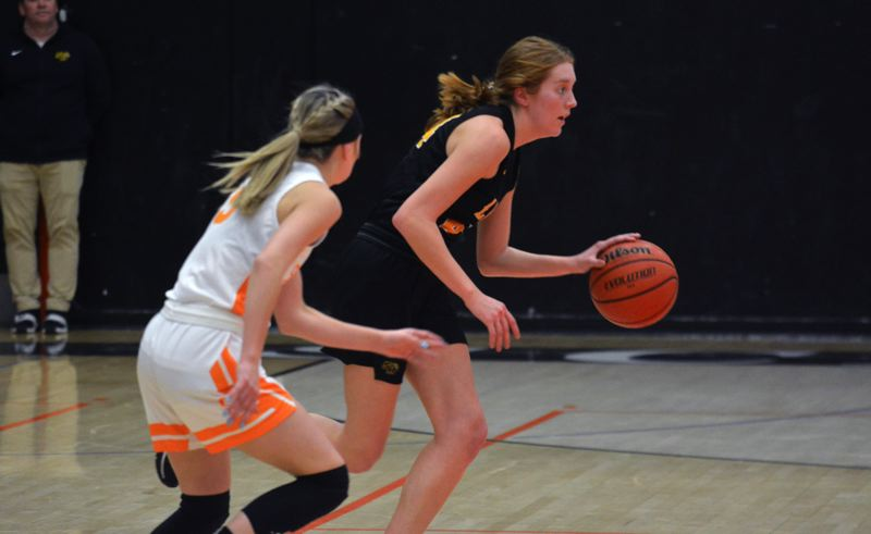 TIMES FILE PHOTO - St. Helens senior forward Maddie Holm was named first-team all Northwest Oregon Conference.