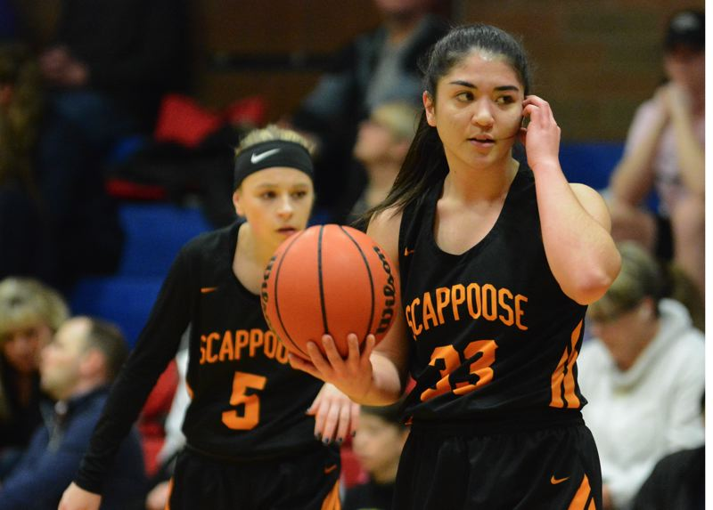 TIMES FILE PHOTO - Scappoose senior Allison Wills was named honorable mention all-NWOC for the Indians.