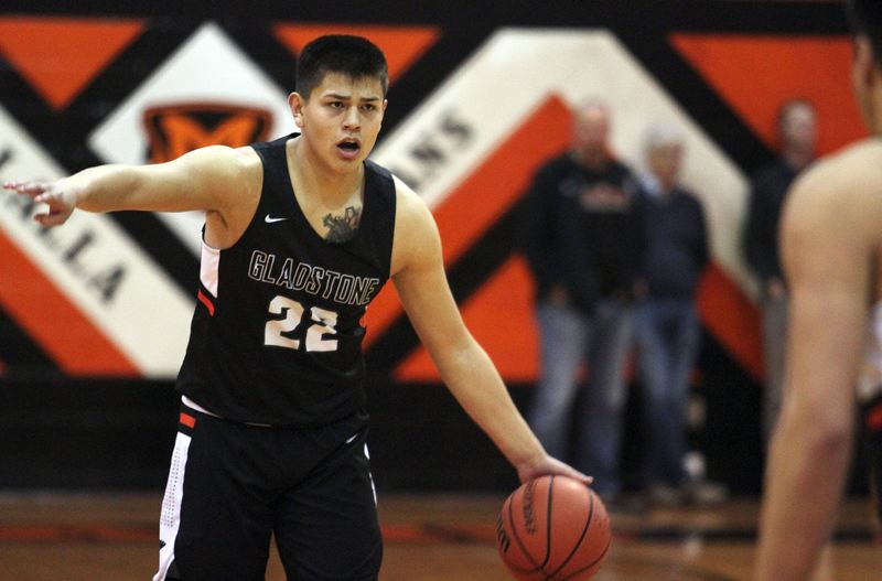 PMG PHOTO: PHIL HAWKINS - Gladstone junior Jude Ashpole was named the Tri-Valley League's co-Player of the Year after leading the Gladiators to a share of the co-Player of the Year and a OSAA 4A playoff berth.