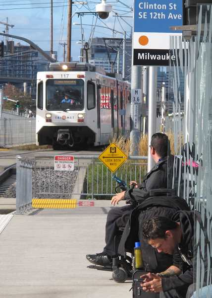 The Orange Line, which runs bewtween Milwaukie and downtown Portland, benefited from federal stimulus money spent on the South Waterfront after the economic downturn of 2008.