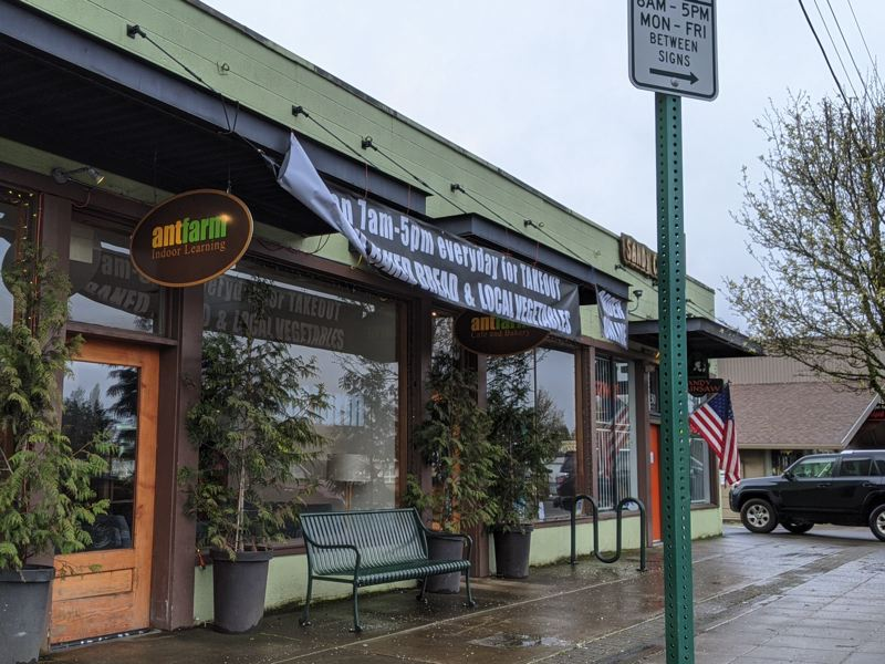 PMG PHOTO: BRITTANY ALLEN - AntFarm closed its cafe as a precaution on Thursday, April 2.