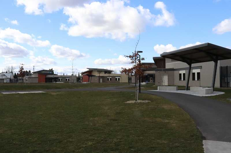 COURTESY OF OYA COMMUNICATIONS - Ghost town: MacLaren Youth Correctional Facilitys outside newer units, built in 2017, have seen far less use since social distancing practices means fewer youth are out and about as they were a few short weeks ago.