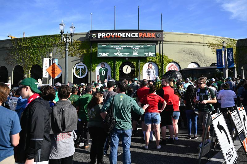 PMG PHOTO: CHRISTOPHER OERTELL - There is still no telling how long Providence Park will be silent because of the COVID-19 pandemic.