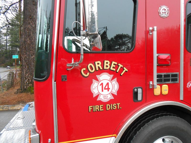 COURTESY PHOTO: CORBETT FIRE DISTRICT -