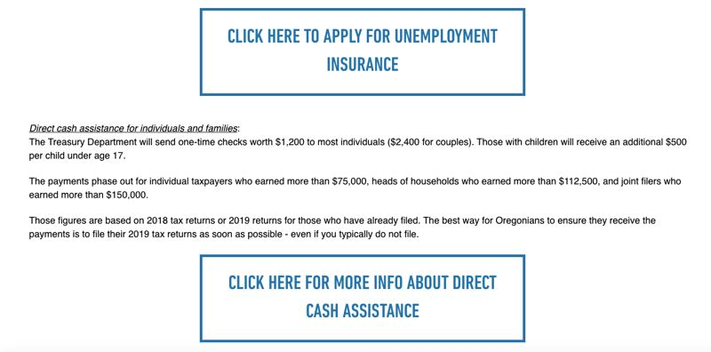 COURTESY: RON WYDEN - Wyden's website aims to make it easier to apply for benefits.