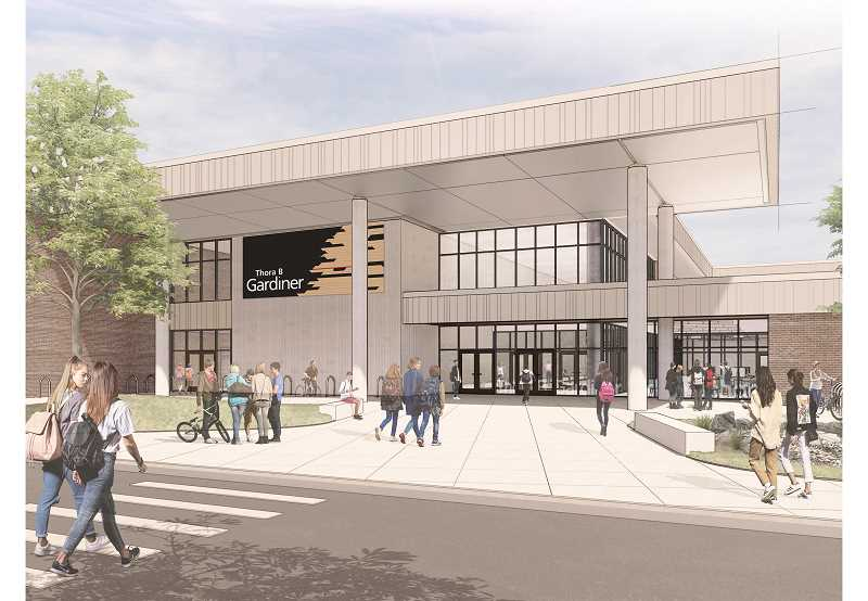 COURTESY: BRIC ARCHITECTURE - Approximately $90 million of the Oregon City School District's bond is slated to replace Gardiner Middle School.